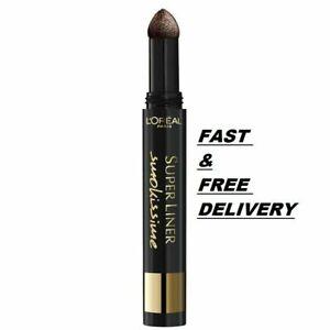 L'Oreal Super Liner Smokissime Powder Eyeliner Pen - BROWN SMOKE