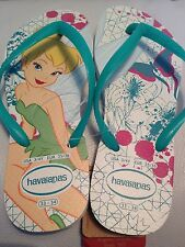 * Last 1  HAVAIANAS Size 5 Infant GIRLS Disney Tinkerbell Flip Flops Sandal Shoe