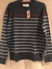 Urban Pipeline Mens Sweater - Authentic American Tradition - XL - Gray Stripe
