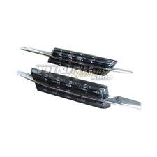 2x LED Clignotants Latéraux, en noir KIT E4 CERTIFICAT TÜV GRATUIT pour