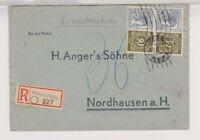 Gemeinsch.Ausg. Mi.928(2), 947(2) Not-R-Königsee/Thür., 8.4.47