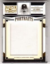 2005 Donruss Prime Patches Jack Morris Portraits SP Authentic GW Jersey 074/218