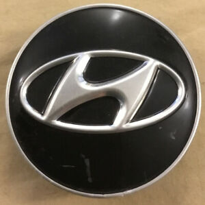 "Hyundai Wheel Center Cap 2-3/8"" 52960-2M000 Hubcap Genesis 2009-2012 Cover black"