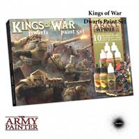 Kings of War Warpaints: Dwarfs Paint Set - Army Painter Mantic KoW THG