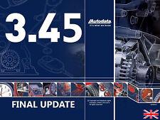 Banca Dati Auto Autodata 3.45 (Riparazione, manutenzione, dati tecnici, ecc) EN