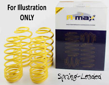 A-MAX Lowering Springs for Peugeot 206 Hatchback & SW 1999-On -35mm Excl.2.0HDi
