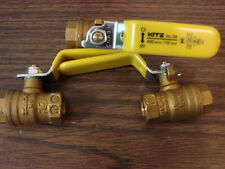 1/4'' BRASS BALL VALVE KITZ # 58 NEW THREADED END