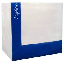 1000 Bianco TOVAGLIOLI / Tovaglioli RISTORANTE 2 PLY 40cmX40cm (chiamare per pallet ordine)