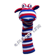 PRO MINISTRY GLOVE HAND LONG SLEEVED SOCK PUPPETS JACK NEW