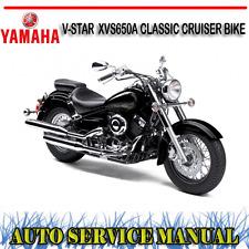 YAMAHA V-STAR  XVS650A CLASSIC CRUISER BIKE WORKSHOP SERVICE REPAIR MANUAL ~ DVD
