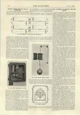 1914 Electric Control Gear For Sewage Filter Beds