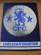 03/12/1977 Chelsea v Everton  . No obvious faults, unless description previously