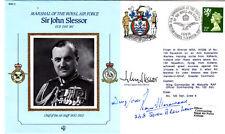Sir J.Slessor Signed Gp Capt John  Slessor & R E G Morewood Pilot in Battle of B