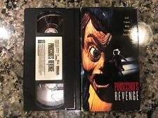 Pinocchios Revenge Vhs! 1996 Slasher! See Also Child's Play 2 & Bride Of Chucky
