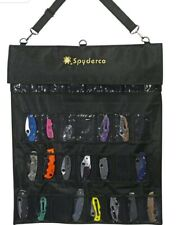 Spyderco sp1 spyderpac large storage pack for pocket knives. Brand new