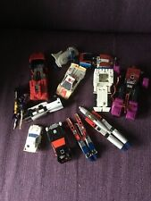 Transformers G1  Various Conditions Inc Red Alert