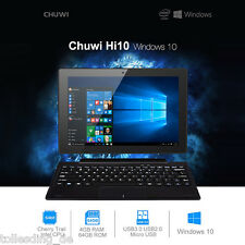 "4GB+64GB CHUWI Hi10 10.1"" Wins 10 Android 5.1 Quad Core WiFi Bluetooth Tablet PC"