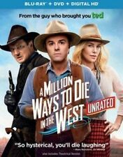 Million Ways to Die in The West Blu-ray Region 1