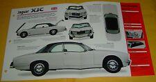 1975 1977 1976 Jaguar XJC 4.2 6 Cylinder 4235cc IMP info/Specs/photo 15x9