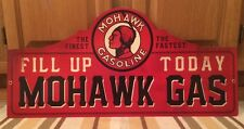 Mohawk Gas Gasoline Fill Up Today Wall Decor Gas Oil Garage Car Truck Pump