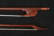 Snake wood holz Violin barock bogen Baroque Violin Bow Snakewood 685MM 53g-56g