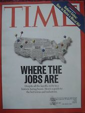 TIME MAGAZINE JANUARY 20 1997 WHERE THE JOBS ARE HOT TOWNS AND INDUSTRIES GUIDE