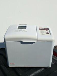 Regal Bread Maker Super Rapid 1 Hour 1.5lbs White K6731 Programmable. Works