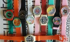 Swatch Standard Ladies 25mm With New Generic Replacement Band #Frankenswatch 80s