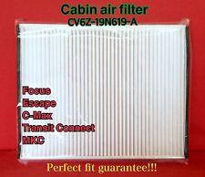 C36174 Premium Cabin Air Filter for Newest Focus Escape C-MaxTransit Connect MKC