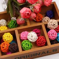Decoration  Ornament Rattan Birthday Party  Wedding Decor Artificial Straw Ball