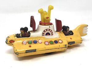 Corgi Toy 803 The Beatles Yellow Submarine 1960s Diecast Model