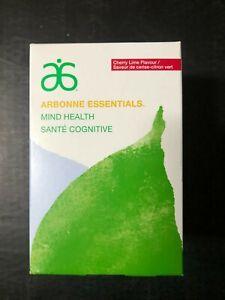 Arbonne Essentials Mind Health Cherry Lime Flavour 30 Sticks
