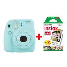 Fujifilm Instax Mini 9 Sofortbildkamera ICEBLAU inkl. 20 Aufnahmen