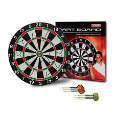 JOEREX Dartboard Game Set with 6 Darts and 12 Inch Board Dart Board New in Box