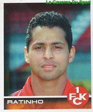 260 RATINHO BRAZIL 1. FC KAISERSLAUTERN STICKER BUNDESLIGA 2001 PANINI