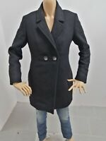 Cappotto NERO GIARDINI Donna Taglia Size 42 Jacket Woman Veste Femme P 7596