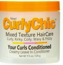 Curly Chic Mixed Hair Haircare Curls Leave in Creamy Conditioner 11.5oz