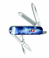 Victorinox Swiss Army Key Chain Knife Classic Ltd Ed -  Lightning - Free Ship