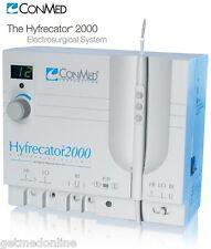 NEW ! Conmed Hyfrecator 2000 Dessicator / Electrosurgical Generator, 7-900-115