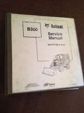 Bobcat B300 300 Wheel Loader Service Manual Melroe Ir