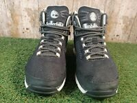 Timberland Euro Hiker SF LT Spa Boots Shoes Black Authentic Size 8 UK 42 EUR