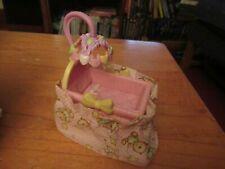Fisher Price Loving Family baby girl bed/crib Bassinet