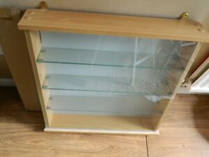 WALL HANGING DISPLAY CASE FOR MODEL CARS/TRAINS