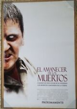 DAWN OF THE DEAD MOVIE POSTER 2 Sided ORIGINAL SPANISH 27x40 ZACK SNYDER
