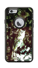 Skin Decal Wrap for Iphone 6 6S Otterbox Defender Case Bass Fishing Fish Camo