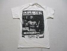 Blink 182 Live Concert Shirt Adult Small White Black Rock Travis Barker Band