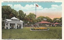 Picnic Grounds Refreshment Stand Indian Echo Caverns in Hummelstown Pa Old