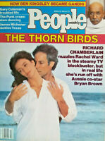 People Magazine March 28 1983 - Thorn Birds Richard Chamberlain - No Label - EX