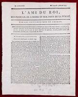 Millau en 1791 Aveyron Epernay Châlons-sur-Marne Alsace Colmar Royaliste