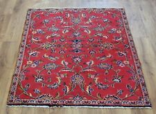 Traditional Vintage Wool Handmade Classic Oriental Area Rug Carpet 125 X 97 cm